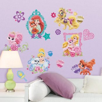 muursticker palace pets princess