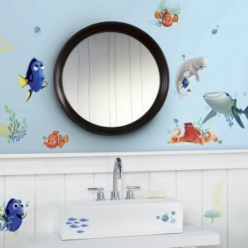 muurstickers set finding dory roommates