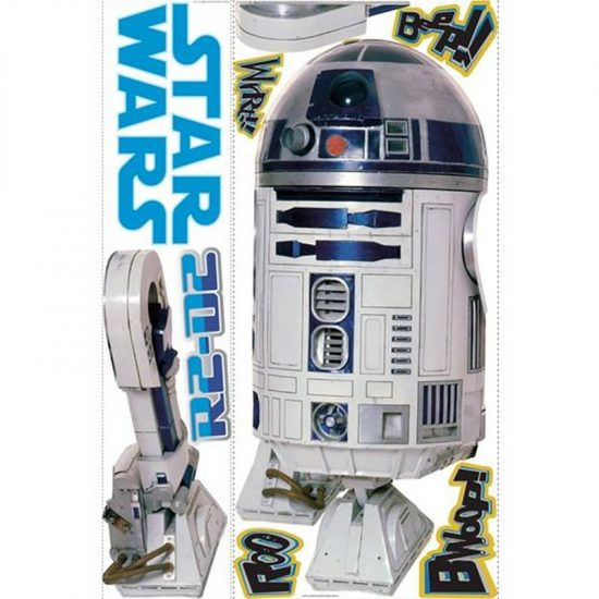 star wars muursticker