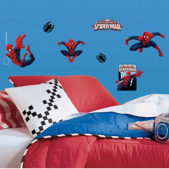 muursticker spiderman