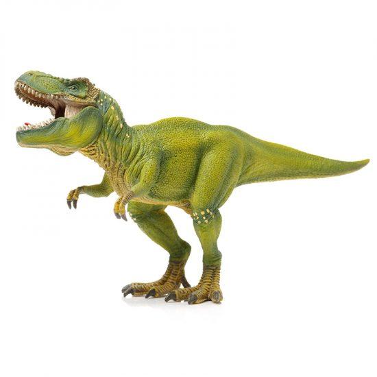 muursticker dinosaurussen t-rex kleur inspiratie ideeen muurdecoratie kinderkamer stoer verven groen