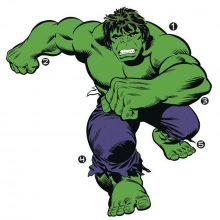 muursticker-hulk-groen-stoer-kinderkamer-leger