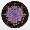 muursticker mandala psychedelisch sy lance kunst psy fi muurdecoratie yoga