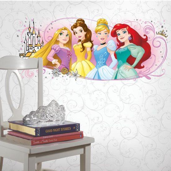 muursticker princess kinderkamre