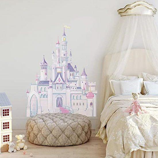 muursticker princess kasteel