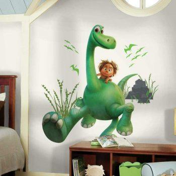 muursticker the good dinosaur dinosaurus jongen