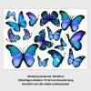 muursticker vlinders blauw jongenskamer meisjeskmaer ideeen inspiratie